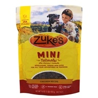 Zuke's - Mini Naturals Dog Treats Chicken Formula - 1 lb. by Zuke's