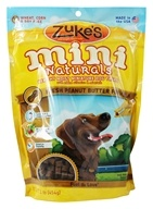Zuke's - Mini Naturals Dog Treats Fresh Peanut Butter Formula - 1 lb. by Zuke's