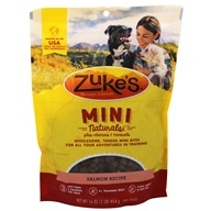 Zuke's - Mini Naturals Dog Treats Salmon Formula - 1 lb.