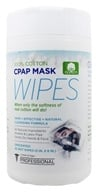 A World of Wipes - Professional CPAP Mask Wipes 100% Pure Cotton 5 in. x 8 in. Unscented - 62 Wipe(s) (655315719088)