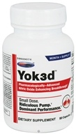 USP Labs - Yok3d Pharmacologically-Advanced Nitric Oxide Enhancing Breakthrough - 90 Capsules