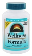 Source Naturals - Wellness Formula - 60 Capsules (021078014249)