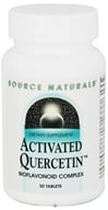 Image of Source Naturals - Activated Quercetin Bioflavonoid Complex - 50 Tablet(s)