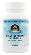 Source Naturals - Theanine Serene with Relora - 30 Tablet(s) Contains Magnolia Bark