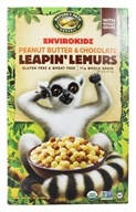 Nature's Path Organic - EnviroKidz Organic Cereal Leapin' Lemurs Peanut Butter & Chocolate - 10 oz., from category: Health Foods