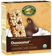 Nature's Path Organic - Chewy Granola Bars Dark Chocolate Chip Choconut - 5 Bars, from category: Nutritional Bars
