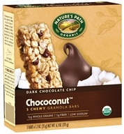 Nature's Path Organic - Chewy Granola Bars Dark Chocolate Chip Choconut - 5 Bars - $4.50