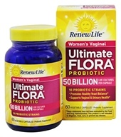 Image of ReNew Life - Ultimate Flora Vaginal Support 50 Billion - 60 Vegetarian Capsules