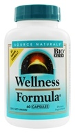 Source Naturals - Wellness Formula Herbal Defense Complex - 60 Capsules