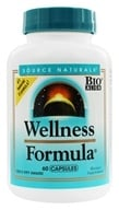 Image of Source Naturals - Wellness Formula Herbal Defense Complex - 60 Capsules