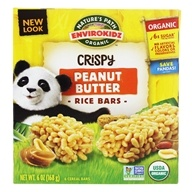 Nature's Path Organic - EnviroKidz Organic Crispy Rice Cereal Bars Panda Peanut Butter - 6 Bars - $4.10