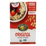 Image of Nature's Path Organic - Instant Hot Oatmeal 8 x 50g Packets Original - 14 oz.