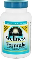Source Naturals - Wellness Formula Herbal Defense Complex - 90 Tablets - $13.91