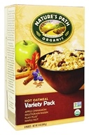 Nature's Path Organic - Instant Hot Oatmeal 8 x 50g Packets Variety Pack - 14 oz. (058449450009)