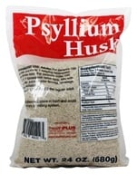 Health Plus - 100% Pure Psyllium Husk - 24 oz. (083502401223)