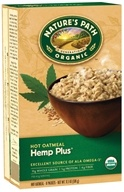 Image of Nature's Path Organic - Instant Hot Oatmeal 8 x 40g Packets Hemp Plus - 11.3 oz.