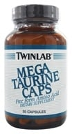 Twinlab - Mega Taurine Caps Free Form Amino Acid - 50 Capsules, from category: Nutritional Supplements