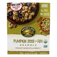 Image of Nature's Path Organic - Granola Flax Plus Pumpkin - 11.5 oz.