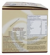 Jay Robb - Whey Protein Isolate Powder Chocolate - 12 Packet(s) (603907001332)