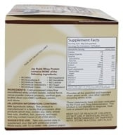 Jay Robb - Whey Protein Isolate Powder Chocolate - 12 Packet(s), from category: Sports Nutrition