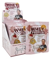 Image of Jay Robb - Whey Protein Isolate Powder Strawberry - 12 Packet(s)