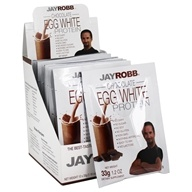 Jay Robb - Egg White Protein Powder Chocolate - 12 Packet(s) - $25.99