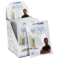 Jay Robb - Egg White Protein Powder Vanilla - 12 Packet(s)