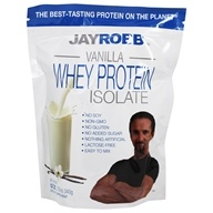 Image of Jay Robb - Whey Protein Isolate Powder Vanilla - 12 oz.
