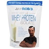 Image of Jay Robb - Whey Protein Isolate Powder Vanilla - 24 oz.
