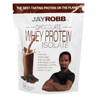 Jay Robb - Whey Protein Isolate Powder Chocolate - 12 oz.