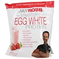 Jay Robb - Egg White Protein Powder Strawberry - 80 oz. (603907000823)