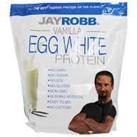 Jay Robb - Egg White Protein Powder Vanilla - 80 oz.