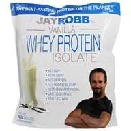 Jay Robb - Whey Protein Isolate Powder Vanilla - 80 oz. by Jay Robb