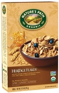 Nature's Path Organic - Cereal Heritage Flakes Whole Grains High Fiber - 13.25 oz., from category: Health Foods