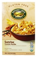 Nature's Path Organic - Cereal Sunrise Gluten-Free Crunchy Vanilla - 10.6 oz.