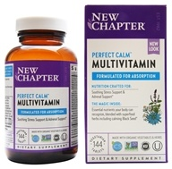 New Chapter - Organics Perfect Calm Whole-Food Multivitamin - 144 Tablets, from category: Nutritional Supplements