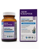 New Chapter - Organics Perfect Calm Whole-Food Multivitamin - 72 Tablets (727783003379)