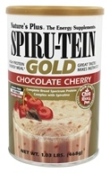 Nature's Plus - Spiru-Tein Gold High Protein Energy Meal Powder Chocolate Cherry - 1.03 lbs.