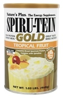 Nature's Plus - Spiru-Tein Gold High Protein Energy Meal Powder Tropical Fruit - 1.03 lbs. by Nature's Plus