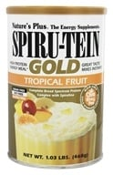 Nature's Plus - Spiru-Tein Gold High Protein Energy Meal Powder Tropical Fruit - 1.03 lbs. (097467453050)