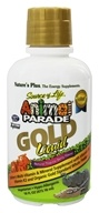 Image of Nature's Plus - Source of Life Animal Parade Gold Liquid Children's Multi-Vitamin & Mineral Natural Tropical Berry Flavor - 16 oz.