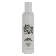 John Masters Organics - Bare Body Lotion For All Skin Types Unscented - 8 oz. (669558600300)