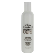 John Masters Organics - Bare Body Lotion For All Skin Types Unscented - 8 oz. by John Masters Organics