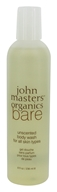 John Masters Organics - Bare Body Wash For All Skin Types Unscented - 8 oz.