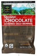 Kopali Organics - Organic Dark Chocolate Covered Goji Berries - 2 oz. by Kopali Organics