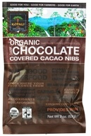 Kopali Organics - Organic Dark Chocolate Covered Cacao Nibs - 2 oz., from category: Health Foods