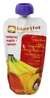 HappyBaby - HappyTot Organic Superfoods Stage 4 Banana, Peach & Mango - 4.22 oz. (852697001323)
