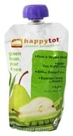 HappyBaby - HappyTot Organic Superfoods Stage 4 Green Bean, Pear & Peas - 4.22 oz. - $1.48