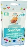 Natural Essentials - Kids Fever-Eez Forehead and Body Wipes Candy Cane - 32 Wipe(s) CLEARANCE PRICED
