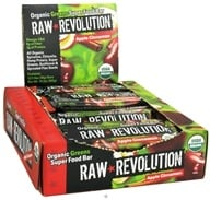Raw Revolution - Organic Greens Super Food Bar Apple Cinnamon - 1.6 oz. - $1.37
